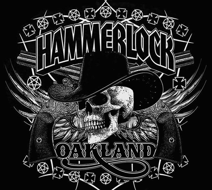 Official Hammerlock logo featuring Nazi Iron Crosses